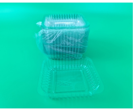 ᐉ Крышка на алюминиевый контейнер из PET артикул SP84L 100 штук (1 пач)
