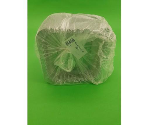 Крышка на алюминиевый контейнер на форму артикул SP24L 100 штук в упаковке