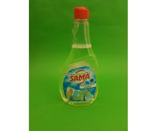 Моющее средство для стекла и зеркал  САМА Миндаль 500г (запаска) (1 шт)