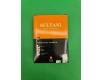 Маркер перманентный тм SULTANI 1.0 mm код424 (большой ,черный) (12 шт)