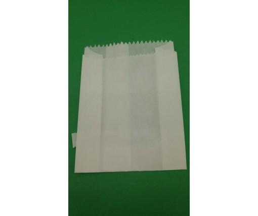 Жиростойкий пакет бумажный 9/4*14 Белый (2000 шт)