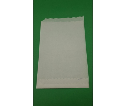 Жиростойкий пакет бумажный 14*23 Белый (1000 шт)