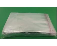 Пакет прозрачный полипропиленовый + скотч  17*22,5+4\25мк +скотч (1000 шт)