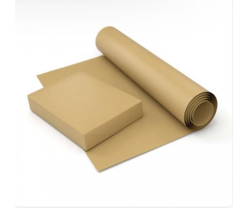 Бумага упаковочная (белая) полотно. 840 мм, 20 м  (1 пач)