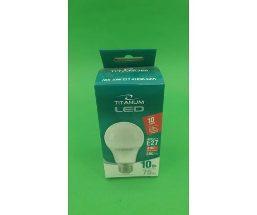 "LED Лампа ""TITANUM""(Светодиодная) 10W (1 шт)"