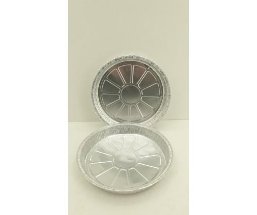 Контейнер из пищевой алюминиевой фольги круглый 600мл (T19G)  100штук в упаковке