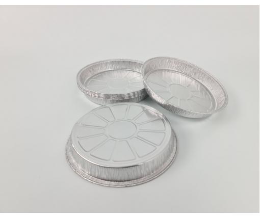 ᐉ Круглая, пещевая, алюминиевая форма 600мл C5-26G 100шт (1 пачка)