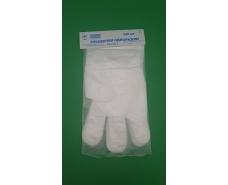 Одноразовые перчатки (100шт) на планочке Исток  (1 пач)