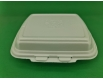 ᐉЛанч-бокс из вспененного полистирола с крышкой (250*210*70) белый HP-1 125штук в мешке