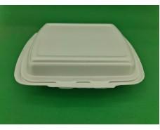 Ланч-бокс из вспененного полистирола с крышкой  (250*210*70) белый HP-2 (125 шт)