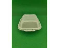 Ланч-бокс из вспененного полистирола с крышкой (123*133*78) белый HP-7  (250 шт)