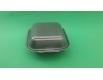 ᐉЛанч-бокс из вспененного полистирола с крышкой (150*152*60) Черный HP-6 250штук в мешке