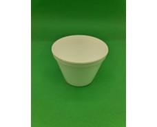 Емкость-пиала супная из вспененного полистирола 500 мл  (чаша без ручки)( 25шт/уп) 500шт/ящ (25 шт)