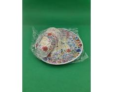 "Одноразовый набор бумажной посуды №4/23 ""Happy Birthday"" (1 пач)"