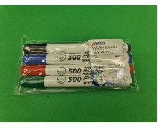 Набор маркеров для доски 4 цвета A+Plus (1 пач)
