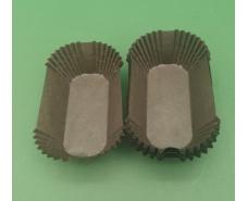 """Тартолетка для кексов""""Прямоугольная коричневая""""(80*35*30,5) (100шт)/П-8/ (1 уп.)"""
