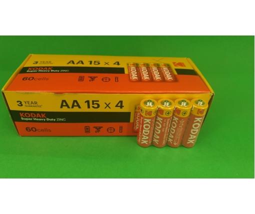 Батарейка ( Элемент питания)Кодак (АА R6) солевые (Б-4) (4 шт)