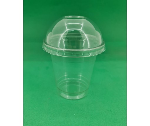 Стакан одноразовый РЕТ 200 мл  плотный, прозрачный, (50 шт)