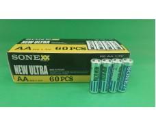 Элемент питания Батарейка  Sone (АА R6) солевые (Б-4) (4 шт)
