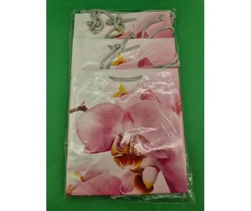 Пакет бумажный подарочный квадратный ы 23*24*10(артKV-119) (12 шт)