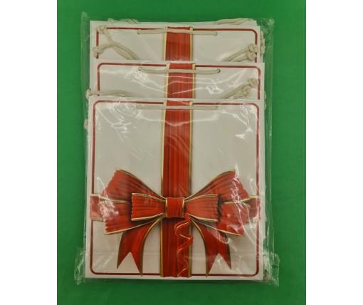 Пакет бумажный подарочный квадратный ы 23*24*10(артKV-157) (12 шт)