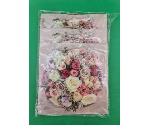 Пакет бумажный подарочный квадратный ы 23*24*10(артKV-107) (12 шт)