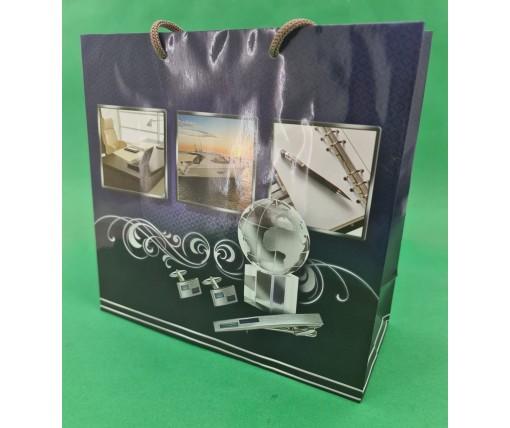 Пакет бумажный подарочный квадратный ы 23*24*10(артKV-151) (12 шт)