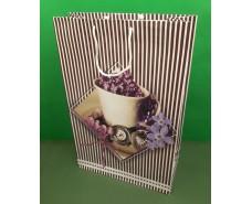 Пакет бумажный гигант вертиркальный (30х42х12)(артGV-048) (12 шт)
