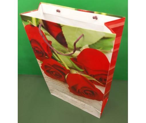 Пакет бумажный гигант вертиркальный (30х42х12)(артGV-062) (12 шт)