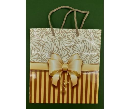 Пакет бумажный подарочный квадратный ы 23*24*10(артKV-161) (12 шт)