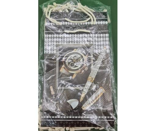 Бумажный пакет подарочный Средний 17/26/8 (артSV-140) (12 шт)