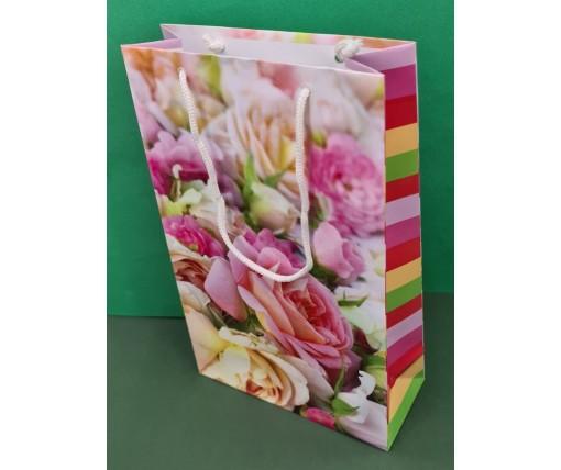 Бумажный пакет подарочный Средний 17/26/8 (артSV-099) (12 шт)
