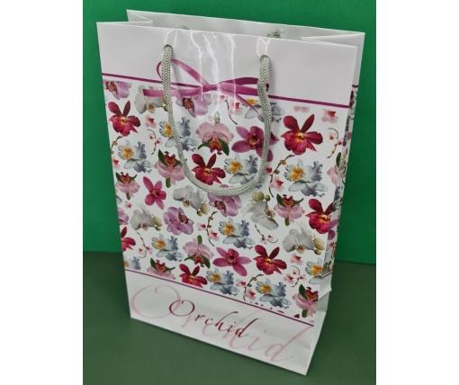 Бумажный пакет подарочный Средний 17/26/8 (артSV-156) (12 шт)