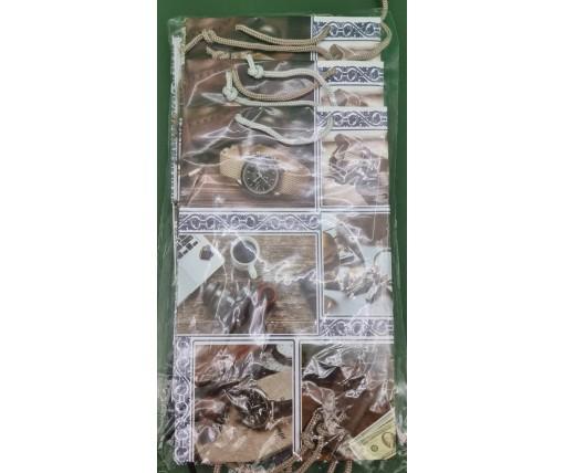 Бумажный пакет подарочный Средний 17/26/8 (артSV-193) (12 шт)
