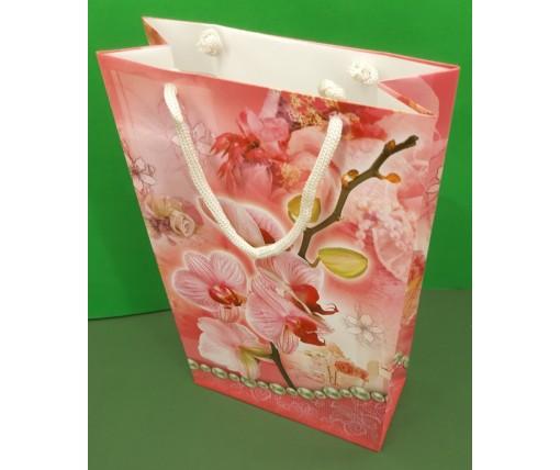 Бумажный пакет подарочный Средний 17/26/8 (артSV-147) (12 шт)