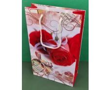 Бумажный пакет подарочный Средний 17/26/8 (артSV-126) (12 шт)