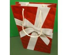 Бумажный пакет подарочный Средний 17/26/8 (артSV-118) (12 шт)