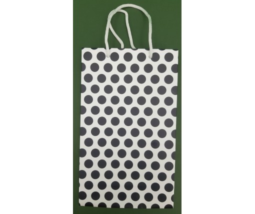 Бумажный пакет подарочный Средний 17/26/8 (артSV-195) (12 шт)
