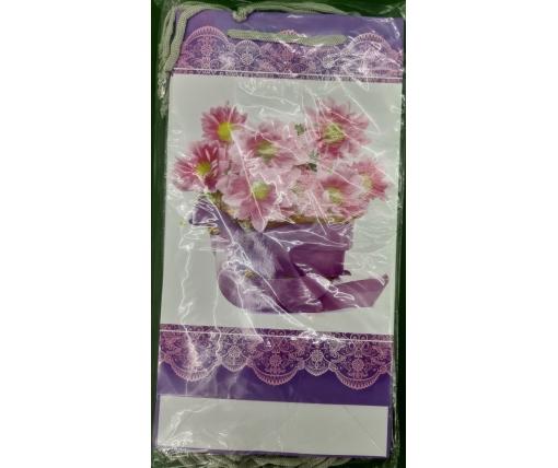 Бумажный пакет подарочный Средний 17/26/8 (артSV-176) (12 шт)