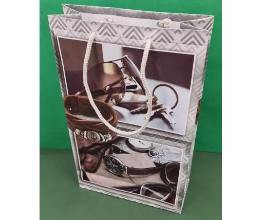 Бумажный пакет подарочный Средний 17/26/8 (артSV-095) (12 шт)