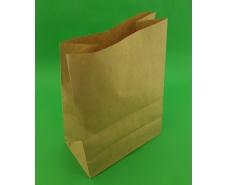 Пакет с дном бумажный 35*25*14 коричневый №20 (25 шт)