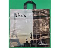 "Пакет с петлевой ручкой ср п ламинир.""Париж"" (44х43+3) 95мк КВС (50 шт)"