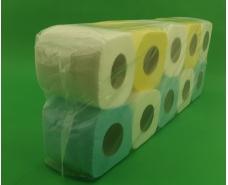 Бумага туалетная  цветная  (а10) Примьер  (1 пач)