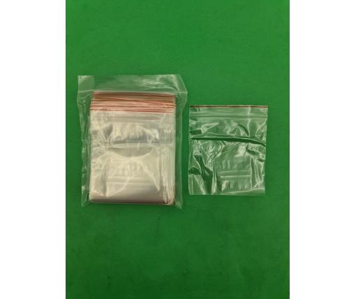.Пакет с замком zipp 10x10 польские(100шт) (1 пач)
