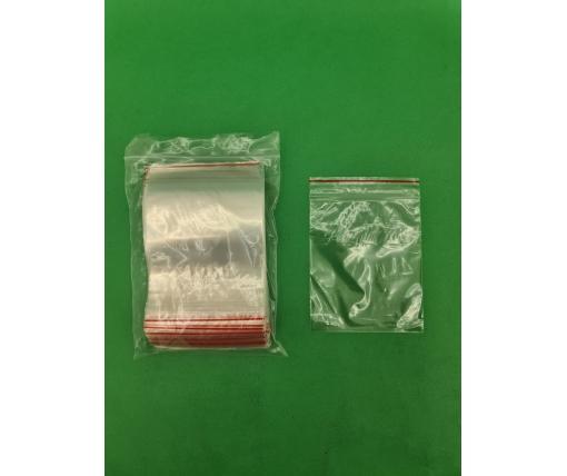 .Пакет с замком zipp 10x12 польские(100шт) (1 пачка)