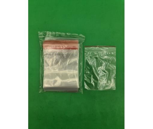 .Пакет с замком zipp 12x15  польские(100шт) (1 пач)