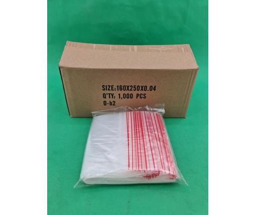 .Пакет с замком zipp 16x25  польские(100шт) (1 пач)