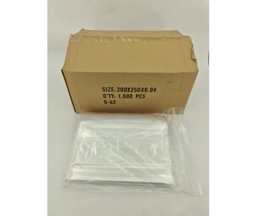 .Пакет с замком zipp 20x25  польские(100шт) (1 пач)