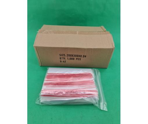 .Пакет с замком zipp 20x30  польские(100шт) (1 шт)