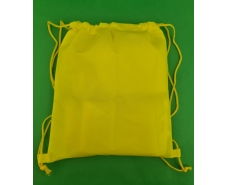 Рюкзак жолтый спанбонд (1 шт)